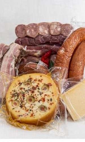 Embalagem a vácuo para alimentos