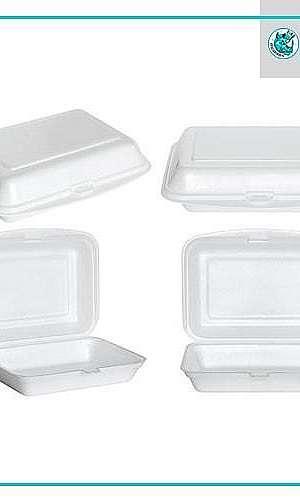 Embalagens para Marmitex de isopor
