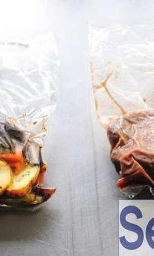 Embalagens plásticas para alimentos congelados